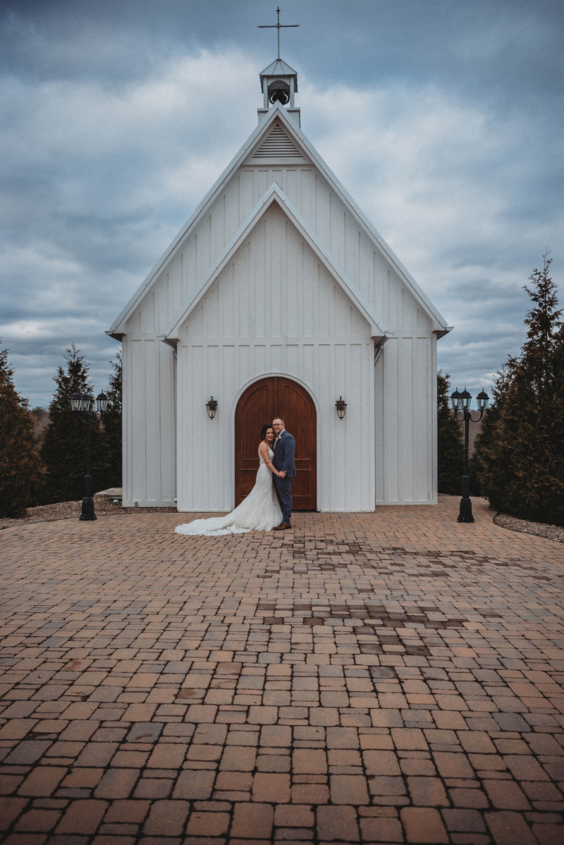 Howe Farms, bride and groom, winter wedding, amazing skies, The Chappel