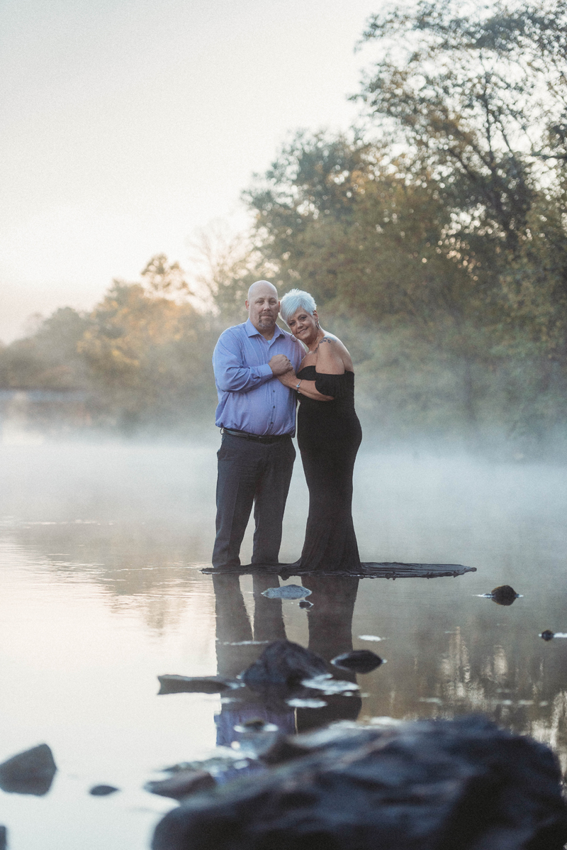 Engagement session at Hiwassee