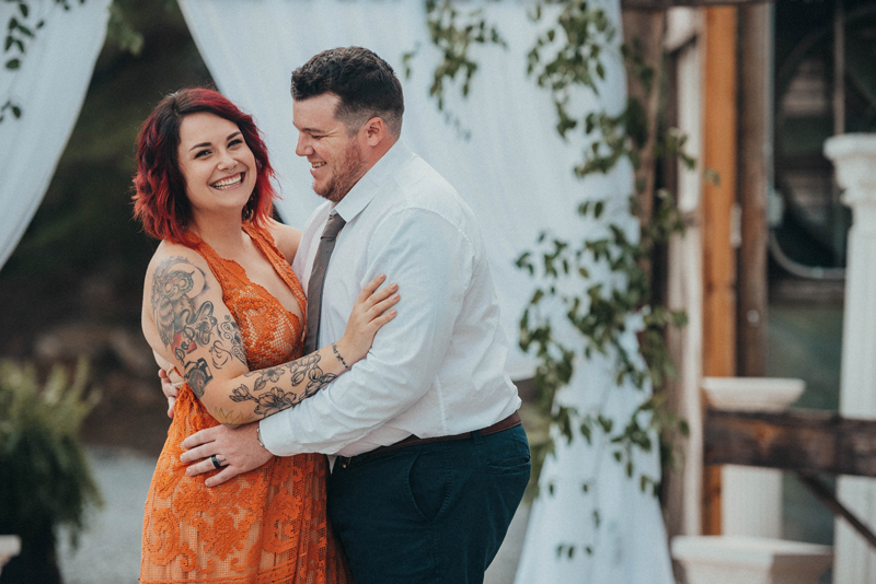 This Reclamation dress was the perfect choice for this amazing session.