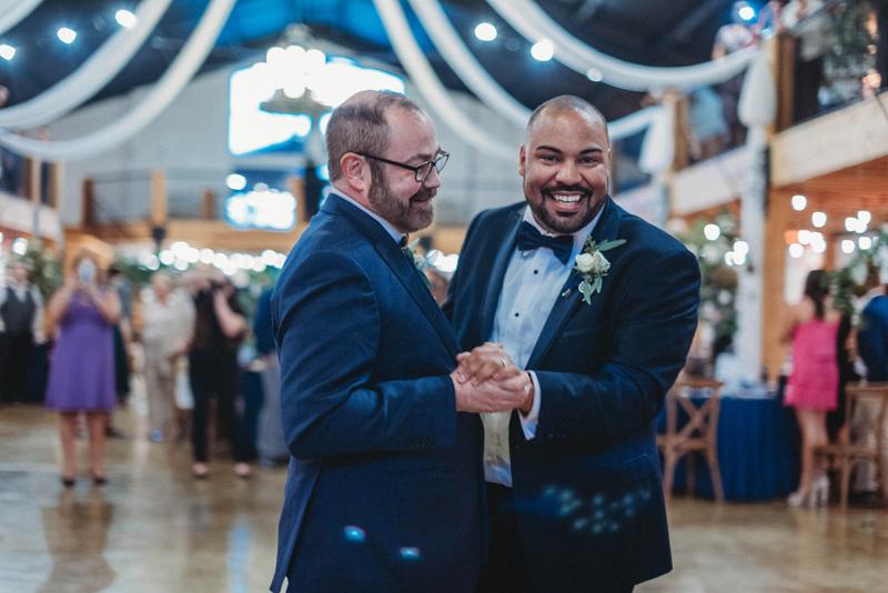 LGBTQ wedding at Howe Farms