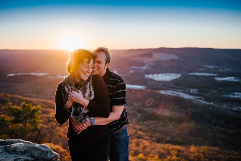 Portraits, Sun Set Rock, Chattanooga TN, storytelling images