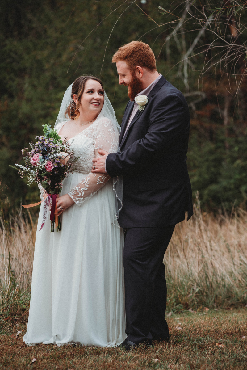 Intimate spring wedding in Chattanooga TN