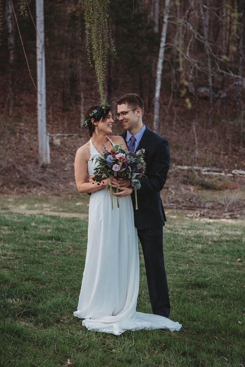 Intimate, spring wedding, Chattanooga TN, garden wedding