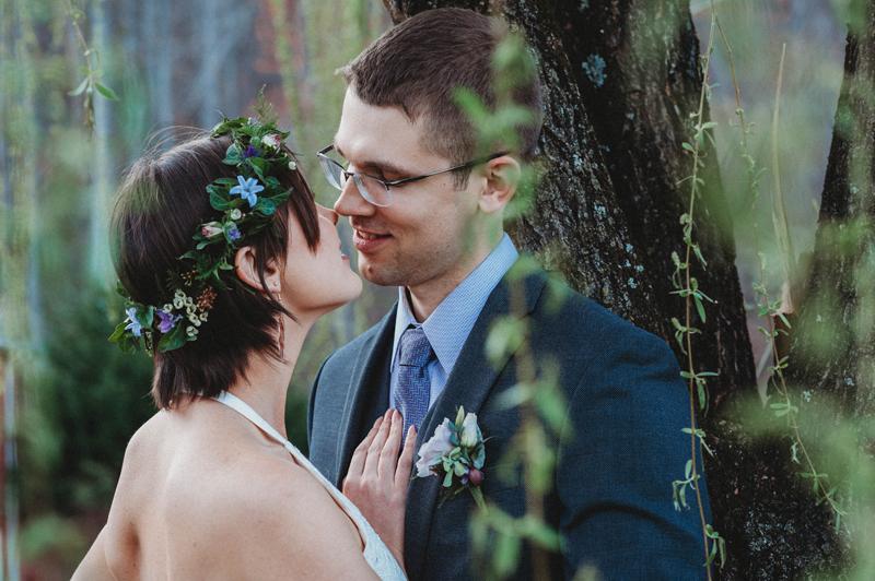 garden wedding, spring wedding, intimate moment, storytelling images