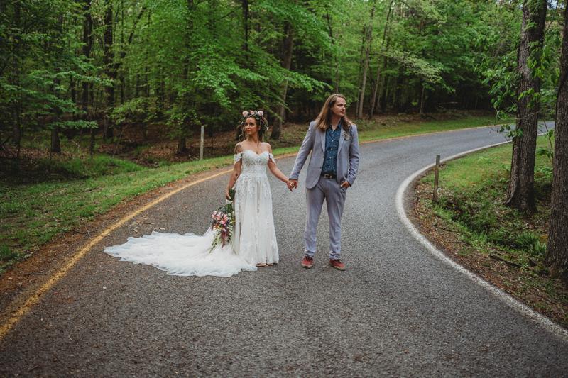 Falls Creek Falls, spring wedding, storytelling images